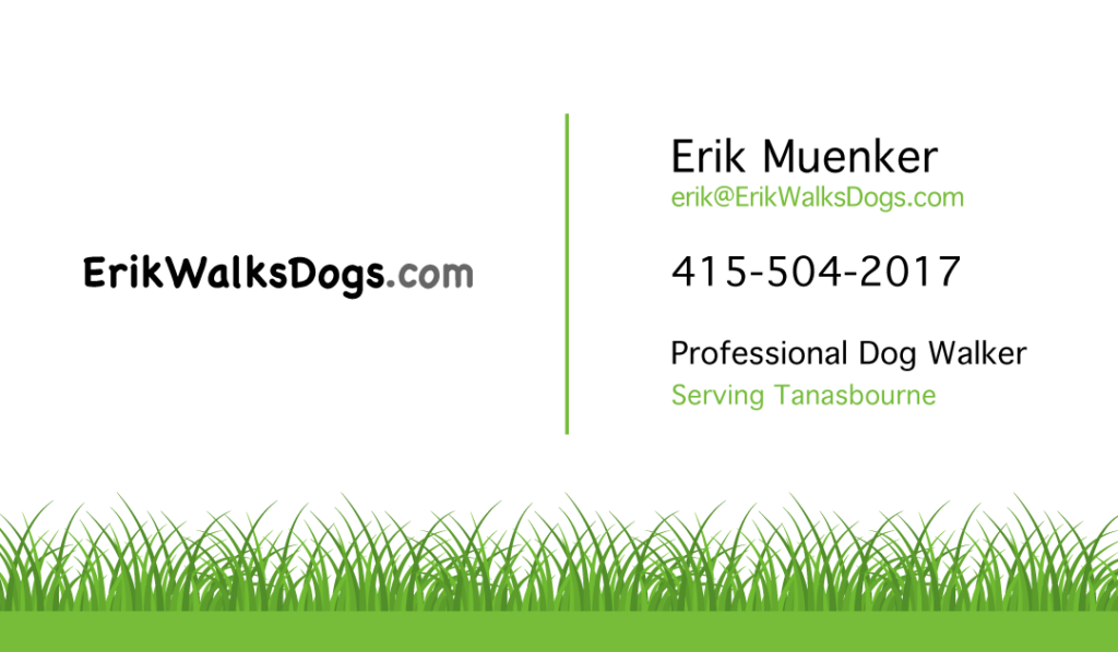 ErikWalkDogs.com Contact Info